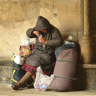 Homeless-dinner